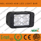 4.5 인치 40W Factory Sale Cheap 4*4 Offroad LED Light Bars, 크리 말 LED Light Bar