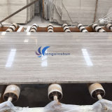 Chimenea de mármol de madera gris clara Polished