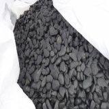 Pedra preta do seixo da massagem da pedra da massagem