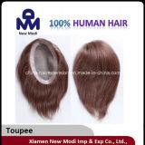 安いブラジルの人間の毛髪のToupee