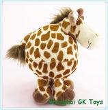 Stuk speelgoed van de Pluche van de Giraf van de Valentijnskaart van de Giraf van het Speelgoed van de baby het Vette