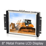 "8 "" 4:3 Metal Open Frame Touch Monitor pour Industrial Application"