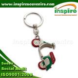 Fábrica al por mayor de los Keyrings con la intervención Certifiacate