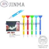 La Pluma de Múltiples Funciones Plástica Jm-N01 de Promotiom con Un Scratcher Posterior