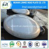 L'extrémité bombée par matériau de l'acier inoxydable AISI 304 dirige des chapeaux de pipe