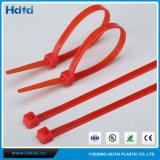Fascetta ferma-cavo del nylon di colore rosso
