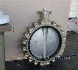 Válvula de borboleta do Al-Bronze do teste padrão do talão com ISO Wras do Ce (CBF01-TL01)