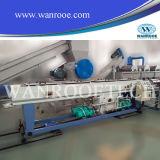 Alta línea eficiente de la protuberancia del tubo doble del PVC