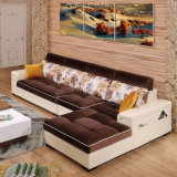 最も安いチェスターフィールドの木のソファーのシート・クッション