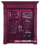 Luxus-hölzerne außentüren (CL-3049)