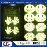 Adesivos reflexivos com alta visibilidade para o uso dos alunos