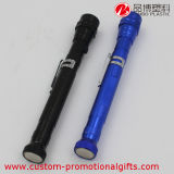 Mini torche extensible flexible portative extérieure en métal LED