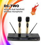 Hifientwurf Gleichstrom-Zwei Doppelhandlautsprecher-Radioapparat-Mikrofon