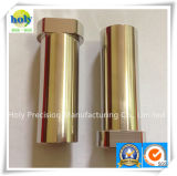 Pezzo meccanico di CNC dell'alluminio, giro di CNC