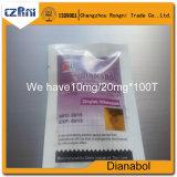 De ruwe Pillen Steroide 10mg/20mg van Methandienones Dianabol/Dbol/Metandienon van het Poeder Steroide