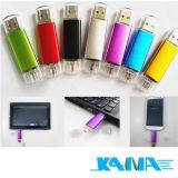 USB de OTG para a vara da memória de Pendrive do polegar de Smartphone&PC