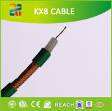 100m Coil 75 Ohm Stranded Conductor Kx8 Coaxial Cable (RoHS CER Approved)