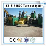 Y81 Máquina de fabricação de blocos de metal hidráulico Empacotador de resíduos