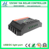 10A Auto 12/24V Solar Charge Controller (QWP-SC1024U)