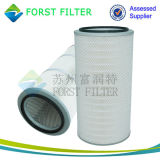 Filtro rotondo dalla cartuccia dell'aria del filtrante della polvere di Forst