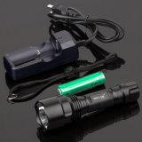 5 Modus-Polizei-Taschenlampe mit Cer, RoHS, MSDS, ISO, SGS