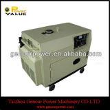 강한 Power Silent 7.5kw Diesel Generator