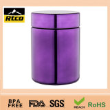 Bottiglia di plastica dell'HDPE di vari colori utilizzata per i materiali dell'alimento di potere