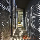 Feuille en aluminium perforée pour le revêtement en aluminium de façade de mur