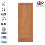Porta de madeira interior moldada de madeira do folheado