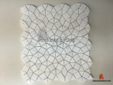 Nuovo Design Lantern White Marble Mosaic per Bathroom e Kitchen