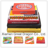 Коробка пиццы Kraft тонкого датчика типа евро Corrugated (PIZZ-005)