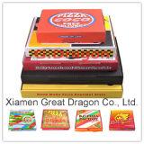 Естественная коробка пиццы картона взгляда (PIZZ-005)