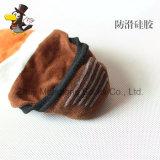 Kundenspezifische Mann-Baumwolle trifft tägliche Tief-Schnitt-Socken Invisble Socken mit Greifer in der Ferse hart