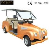Gelb 8 Seaters elektrisches klassisches Auto