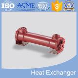 Échangeur de chaleur à ailettes professionnel de spirale de pétrole avec du ce, ASME