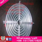 Lámina del ventilador del motor eléctrico ventilador industrial de la torre de enfriamiento del motor eléctrico del extractor del ático de la turbina de 16 pulgadas