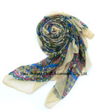 Women Spring Shawl Wraps ScarfのためのプリントScarf