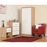 Wooden High Gloss 2 Door Wardrobe Closet Dresser (WB05)