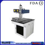 máquina material de la marca del laser del CO2 de Pacakge del paño 20W del alimento de madera de alta velocidad de los componentes electrónicos