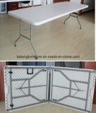 Venda por atacado portátil ao ar livre da tabela de dobradura da mobília do jardim