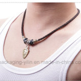 Womenのための卸し売りFashion Leather Rope Metal Alloy Necklaces Jewelry
