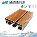Perfil de alumínio da grão de madeira da alta qualidade para a janela da isolação térmica