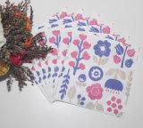フルーツのロゴの柔らかい印刷された紙ナプキン