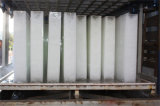Acero inoxidable de la máquina de hielo de bloque de la planta de hielo (3T/DAY) industrial