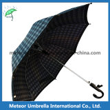 Sale를 위한 Mens Cool Sport Black Grid Golf Umbrella