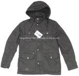 Hoodyの人の偶然の冬の洗浄のコートかジャケット