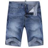Джинсовая ткань джинсыов людей помытая замыкает накоротко кальсоны лета кальсон Капри короткие