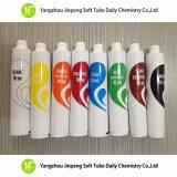 Tubes colorés de produit de beauté de baquets de peintures de tubes d'Aluminum&Plastic