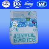 Tissu magique de bande comme la couche-culotte intelligente de tissu de couche de bébé de couverture
