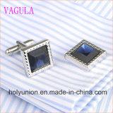 VAGULA Gemelos 남자 프랑스 셔츠 다이아몬드 커프스 단추 339